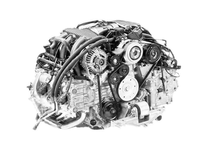 1998 Porsche Boxster Engine