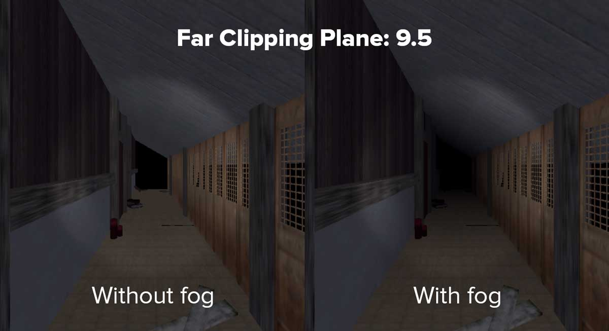 Clipping Plane Optimization in Unity Settings