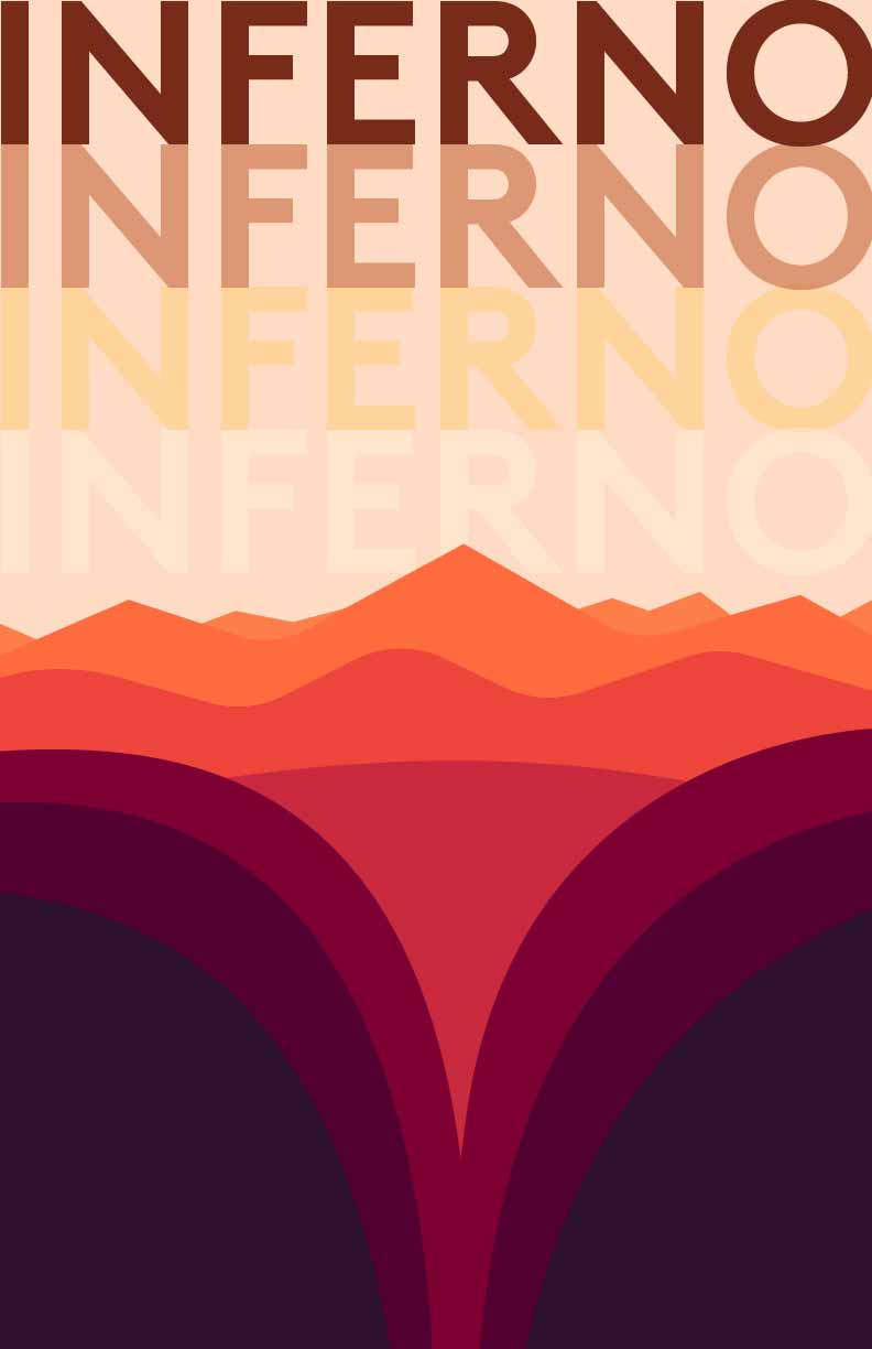 Inferno Campo Santo Firewatch Design